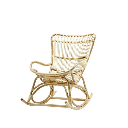 Handmade Natural Onyeka Pam Rocking Chair