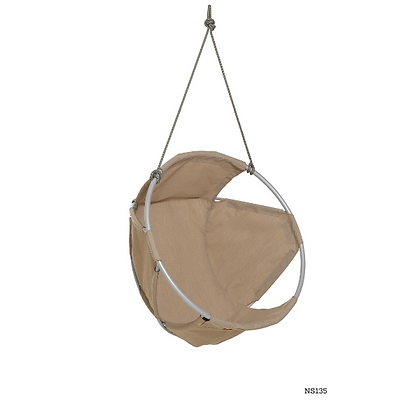 Handmade Metal and Fabric Hanging Swing Chair - NS135