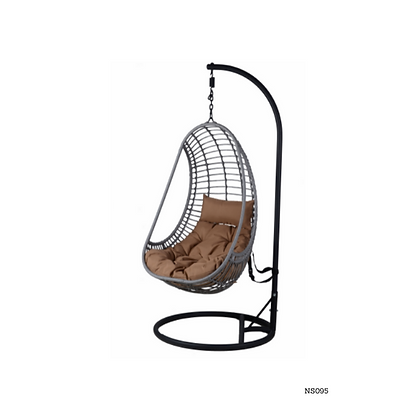 Handmade Rattan Hanging Swing Chair for Indoor and Outdoor- NS95