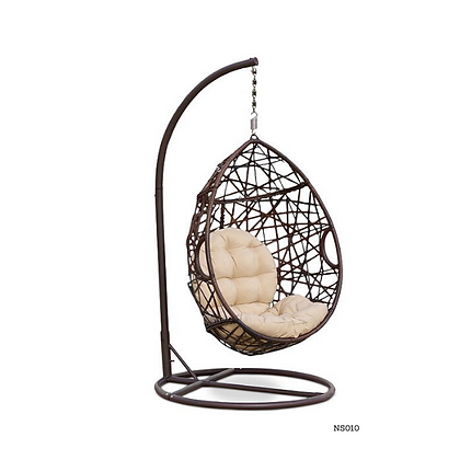 Handmade Rattan Hanging Swing Chair for Outdoor and Indoor - NS10