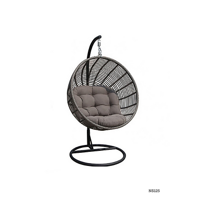 Handmade Wicker Rocking Egg Swing Chair for Indoor and Outdoor- NS125