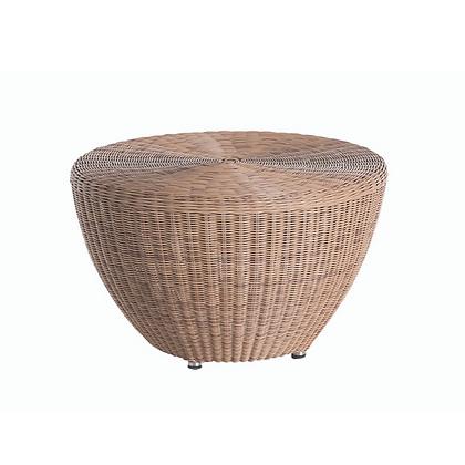 Handmade Wicker Kabir Bubble Brown Corner Table- KCT26