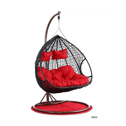 Handmade Patio, Rattan Hanging Swing Chair-NS04