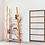 Thumbnail: Handmade Natural Oak Wood Bookshelf for home and office