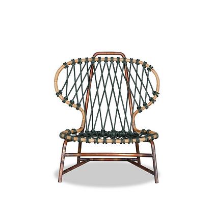 Handmade Rattan Tabitha Easy Chair