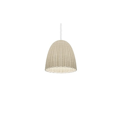 Rattan, Wicker handwoven Suspension lamp