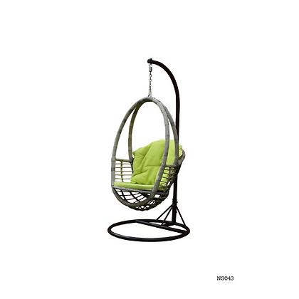Handmade Natural Rattan Edmonton Egg Swing Chair-NS43