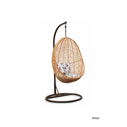 Handmade Rattan, Wicker Hanging Egg Swing Chair-NS22