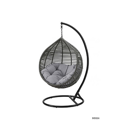 Handmade Rattan, Wicker Hanging Egg Swing Chair for Your House-NS24
