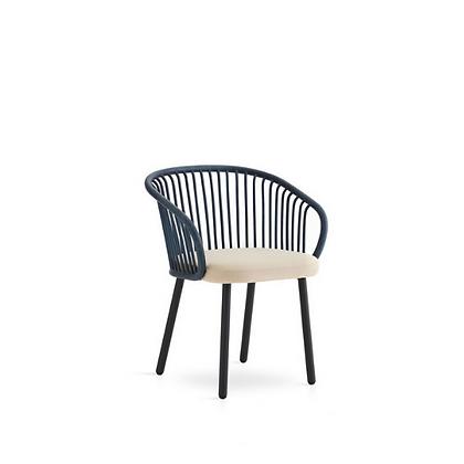 Handmade Natural Rattan Saniya  Dining Arm Chair