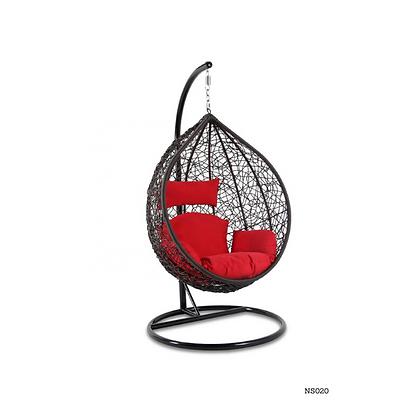 Handmade Rattan, Wicker Hanging Egg Swing Chair , Garden Hanging Swing - NS20