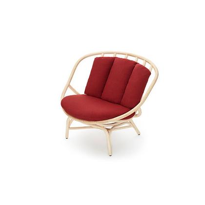 Handmade Natural Rattan Hubun Arm Chair