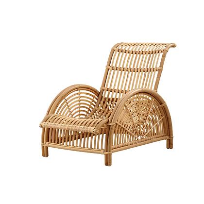 Handmade Natural Rosana Lounge Chair