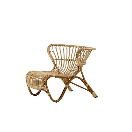 Handmade Natural Rattan Yaroslava  Lounge Chair