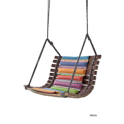 Handmade Natural Wood Hanging Swing Chair - NS134