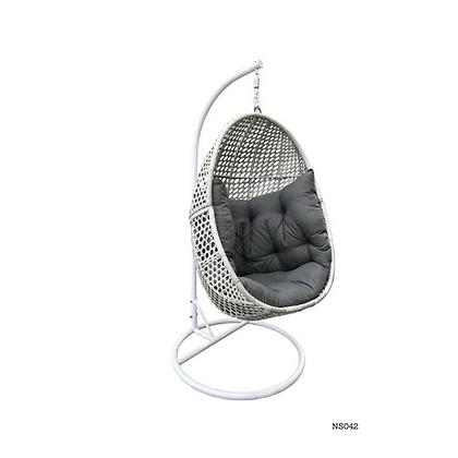 Handmade Wicker Ergonomic Egg Swing Chair-NS42