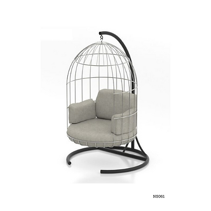 Handmade Cage Swing Chair For Home Terrace and Balcony - NS61