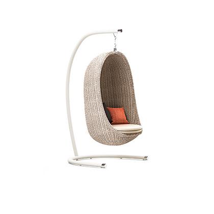 Handmade Wicker Nest Egg Swing for Home and Garden, Prime Design