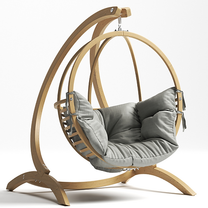Handmade Wooden Globo Ball Swing, Prime Design