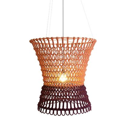 Handmade Cotton Fiber Rope lamp best for Hotel, Restaurant and Resort- AFRL23