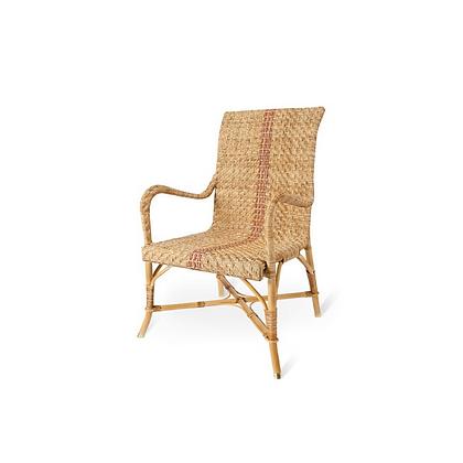 Handmade Natural Rattan Jute Arm Chair