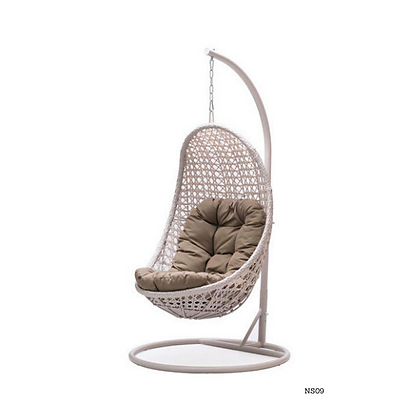 Handmade Rattan Hanging Swing Chair for Home - NS09