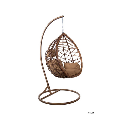 Handmade Rattan, Wicker Hanging Egg Swing Chair for Porch - NS18