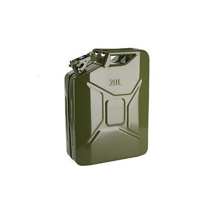 20 Liter Metal Jerry Can Green