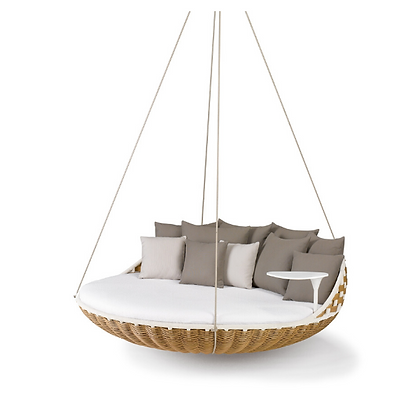 Handmade Round Hang Swing Bed, Prime Design