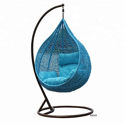 Handmade Rattan, Wicker Bird Nest Egg Swing Chair-NS35