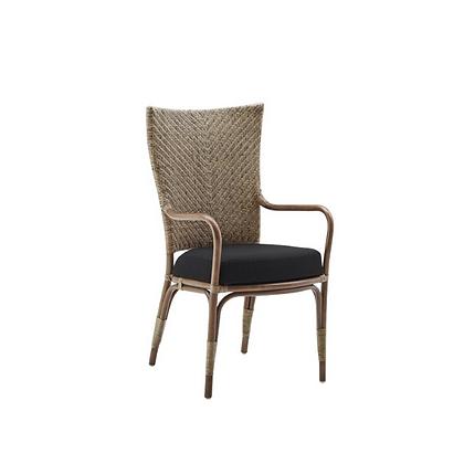 Handmade Natural Jute Armless Dining Chair
