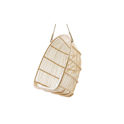 Handmade Natural Rattan Qamar Swing Hanging Chair