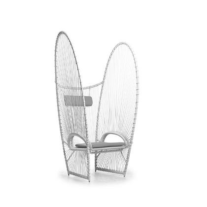 Handmade Rattan Vannesa Qadira Easy Arm Chair