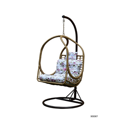 Stylish Hanging Egg Chair Swing for Indoor Outdoor Patio Backyard - NS67