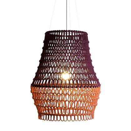 Handmade Cotton Fiber Rope lamp best for interior design -AFRL22