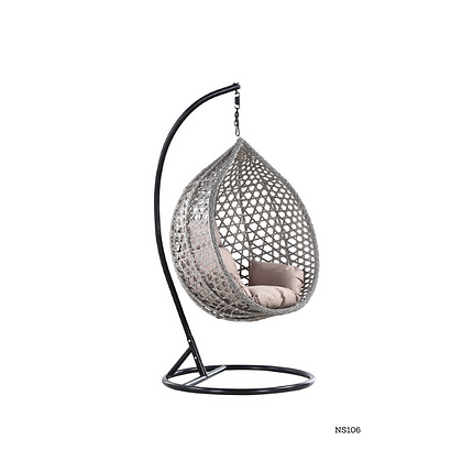 Handmade Wicker Egg Swing for Balcony, Terrace, Bedroom, Living-room - NS106