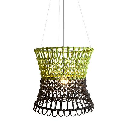 Handmade Cotton Fiber Rope lamp best for Hotel, Restaurant and Resort-IAFRL24