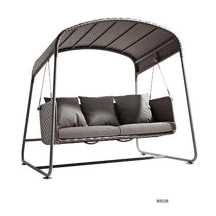 Handmade Hanging Swing Sofa With Roof - NS138