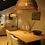 Thumbnail: Handmade Natural Rattan Brown Ceiling Lamp for Home, Hotel, Restaurant