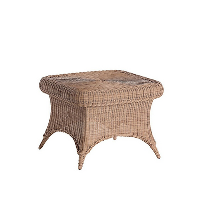Handmade Wicker Kabir Brown Corner Table- KCT25