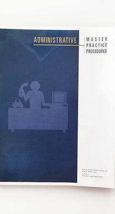 Master Practice Procedures: Administrative