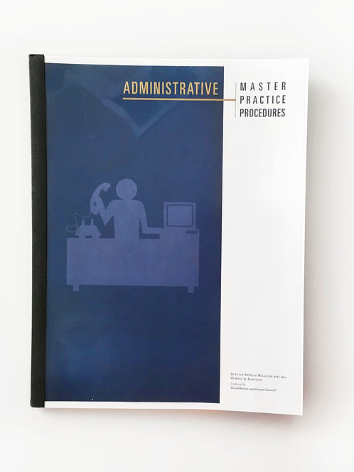 Master Practice Procedures: Administrative