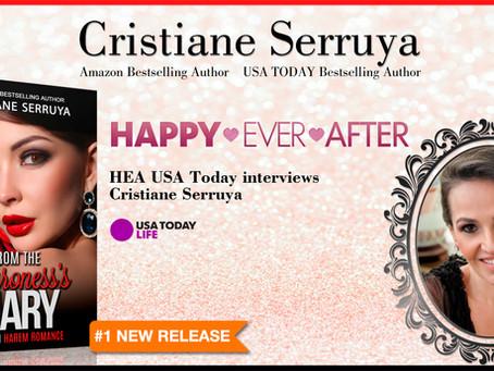 HEA USA Today interviews Cristiane Serruya