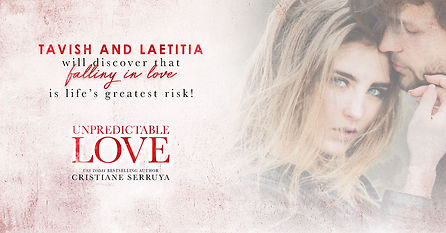 Tavish and Laetitia will discover that falling in love is life's greatest risk!
