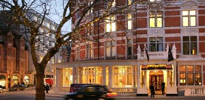 The Connaught, in the heart of Mayfair.