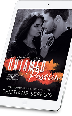 Untamed Passion by USA TODAY bestselling author Cristiane Serruya cover