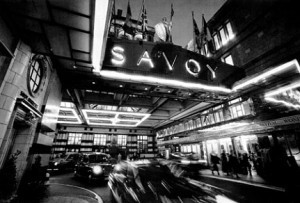 The Savoy is one of the most iconic hotel of London since 1889.