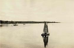Sailboat on Mattapoisett Harbor