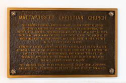 Church Plaque