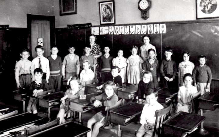 A classroom in Center School.